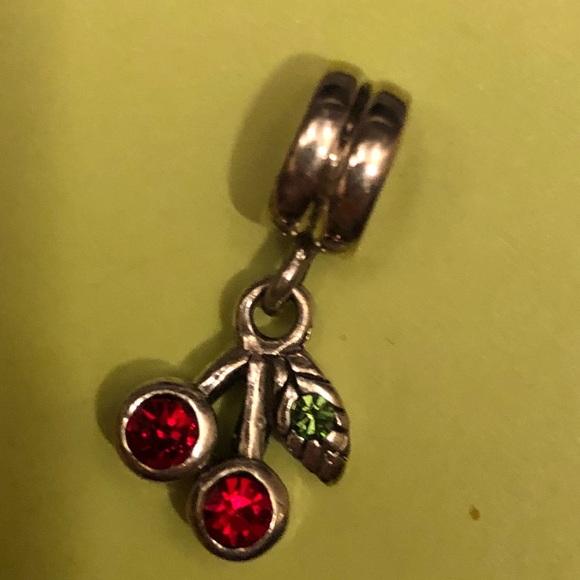 62 off pandora jewelry pandora dangling cherry charm from pandora dangling cherry charm sciox Images